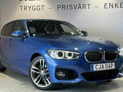 begagnad BMW 118 i Manuel M sport Stora skärmen