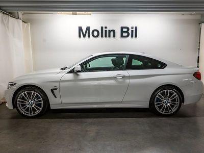 begagnad BMW 430 d xDrive Coupé M Sport / Navigation / Drag