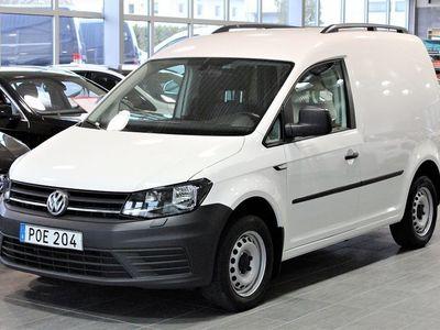 begagnad VW Caddy 2.0 TDI 102HK EU6 Komfort Värmare Drag