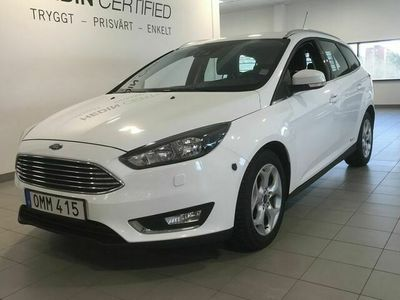 begagnad Ford Focus Ford Focus Kombi 1.5 TDCi Manuell, 120hk