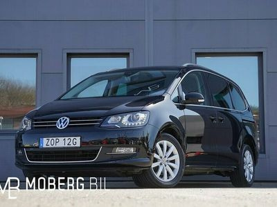 begagnad VW Sharan 2.0 TDI 177hk 4M 7-Sits Navi Värmare Drag