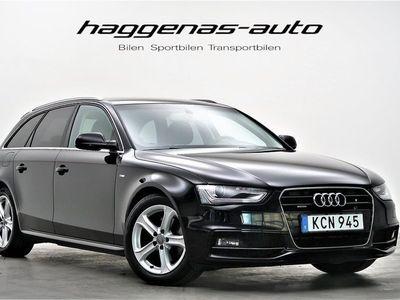 begagnad Audi A4 2.0 TDI Quattro / S-line / NAVI / 190hk