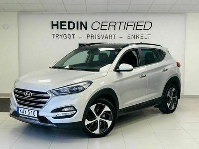 begagnad Hyundai Tucson 1.6 T - GDI AUT 4WD Premium / Drag /
