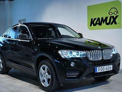 brugt BMW X4 xDrive M-sport ratt HiFi Elbaklucka M-värmare Pdc SoV 190hk Fri Hemleverans