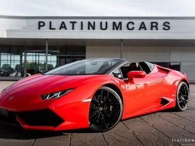 begagnad Lamborghini Huracán Huracan Huracán SpyderAd Personam 2018, Personbil 2 259 000 kr