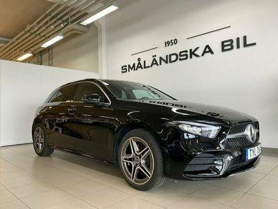 begagnad Mercedes A250 e Hybrid 8G-DCT AMG Sport DEMOBIL