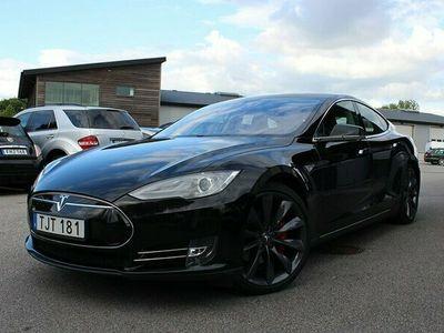 begagnad Tesla Model S P85 Performance Supercharge Luftfjädring 21
