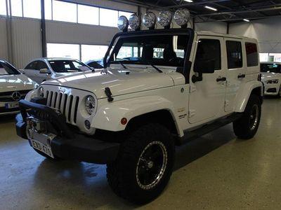 begagnad Jeep Wrangler SAHARA
