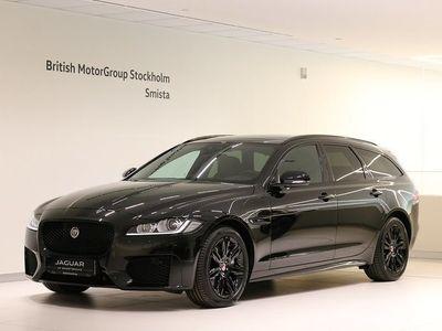 begagnad Jaguar XF Sportbrake 20d AWD Chequered Flag