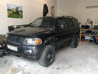 begagnad Mitsubishi Pajero sport