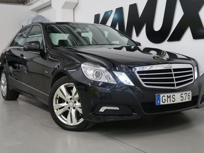 begagnad Mercedes E250 CDI BlueEFFICIENCY