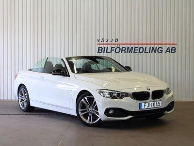 begagnad BMW 428 i Cabriolet Sport Line Euro 6 245hk