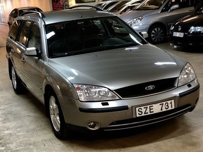 brugt Ford Mondeo 2.5T V6/ GHIA/ HELLÄDER/ DRAG/ BESIKTIGAD