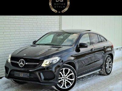 begagnad Mercedes GLE350 Amg Pano Navi Drag Kamera Moms Eu6