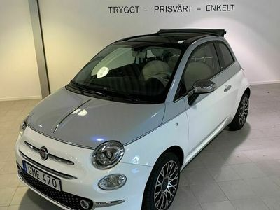 begagnad Fiat 500C 1,2 COLLEZIONE 69hk