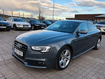 begagnad Audi A5 2.0 TDI190 AUT S-LINE LÄDER NAVI EU6 2-ÅRS GARANTI
