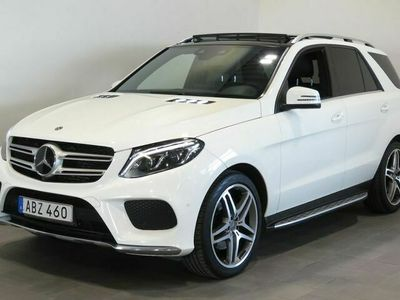 begagnad Mercedes GLE350 - Benzd 4Matic 9G - Tronic | P - Värmare / Eldrag / Panorama