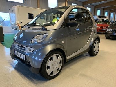begagnad Smart ForTwo Coupé Semi Automat Pulse Canvas RÄNTEFRITT Uttagen Sept