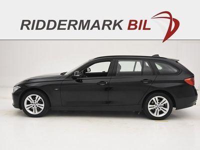 begagnad BMW 318 d xDrive Touring Sport Line Fullservad 143hk