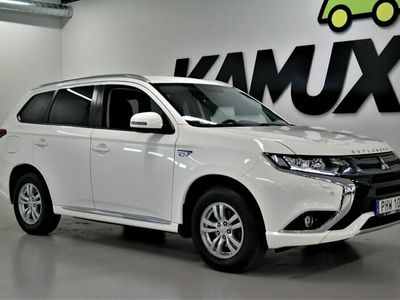 begagnad Mitsubishi Outlander P-HEV 2.0 Hybrid 4WD   S&V-Hjul   203hk