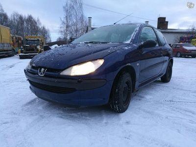 begagnad Peugeot 206 1,4 ev. byte. -99