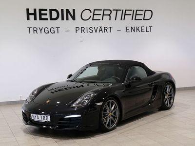 begagnad Porsche Boxster Black Edition