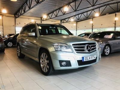 begagnad Mercedes GLK220 CDI 4MATIC BlueEFFICIENCY 7G-Tronic 170hk