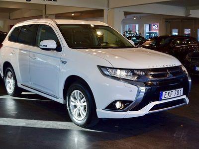 begagnad Mitsubishi Outlander P-HEV 2.0 Hybrid 4WD CVT -16