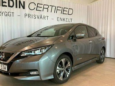 begagnad Nissan Leaf TEKNA 40 kWh DEMO 2021, Halvkombi Pris 309 900 kr