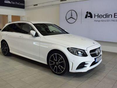 begagnad Mercedes 220 C-Klassd 4-Matic DEMO AMG, Premiumpaket, Adaptiv Farthållare, Drag