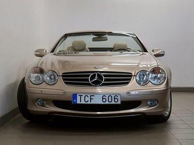 begagnad Mercedes SL500 V8 Sv-Såld Bose