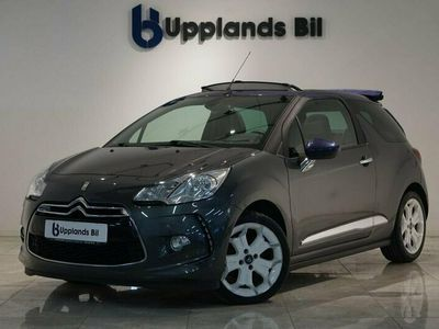 begagnad Citroën DS3 Cabriolet 1.6 E-HDi AIRDREAM EGS 92hk