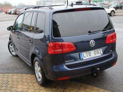 begagnad VW Touran 1.6 TDI 105hk,DSG,7-sits,Drag