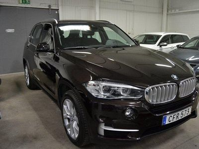 begagnad BMW X5 xDrive40e Plug-in 313hk Dragrok Navi