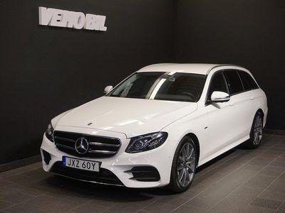 begagnad Mercedes E220 d 4M 220d 4MATIC AMG Värmare Drag Navi 360-Kamera Apple Carplay