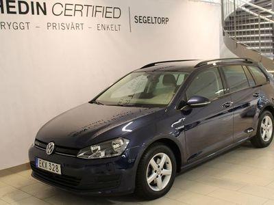 begagnad VW Golf 1,4 TGI 110HK AUTOMAT COMBI S+V-HJUL
