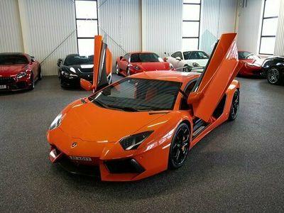 begagnad Lamborghini Aventador LP 700-4 NOVITEC SPORTAVGAS 2012, Personbil 2 395 000 kr