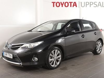 begagnad Toyota Auris 1,8 Elhybrid Executive 5dr GPS/ Mvärmare