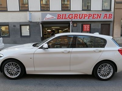 used BMW 118 i 5-door Aut M-Sport pkt Euro 6 136hk S-V Alu