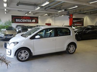 begagnad VW up! 1.0 Euro 6 Skinnklädsel Svensks