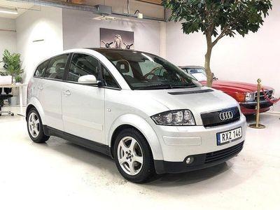 begagnad Audi A2 1.4 75hk Pano/Aluminiumkaross