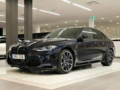 begagnad BMW M3 Competition 510hk Drive Recorder Sätesventilaton H/K