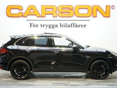 begagnad Porsche Cayenne S E-Hybrid Panorama Luftfjädring Navi Nyservad