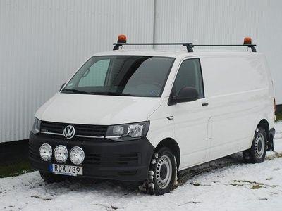 begagnad VW Transporter lång TDI 4M Dieselvärm
