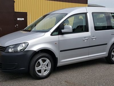 begagnad VW Caddy Maxi Life Caddy Life 2,0 Ecofuel 5sits Trendline 2014, Personbil 135 000 kr
