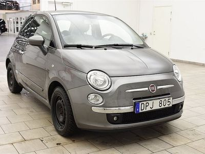 begagnad Fiat 500 1.2 69hk 3dr BLUETOOTH / NYSERVAD