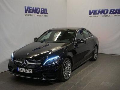 begagnad Mercedes C200 4-Matic AMG Backkamera Värmare Aut Nav ILS