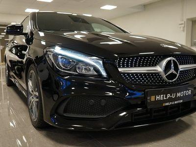 begagnad Mercedes CLA180 Shooting Brake AMG Drag Panorama Vdäck