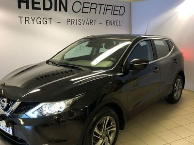 begagnad Nissan Qashqai 1.6 DCi Acenta 2WD Xtronic Safety Pack