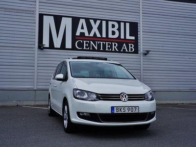 begagnad VW Sharan TDI Premium,7-sits Panorama/Navi/Värmare/Drag 150hk
